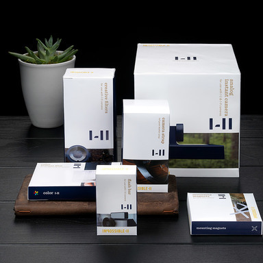 Impossible Project Packaging and Rebrand