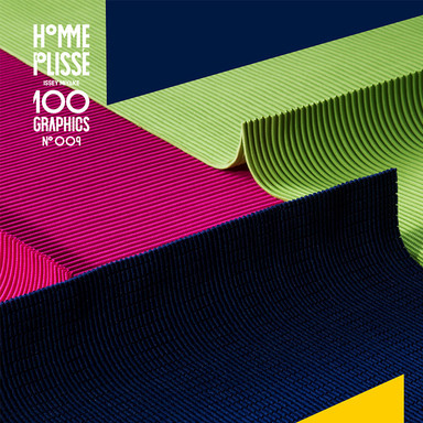 100 GRAPHICS by HOMME PLISSE ISSEY MIYAKE