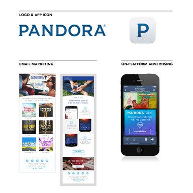 Pandora Rebrand: The Color of Music