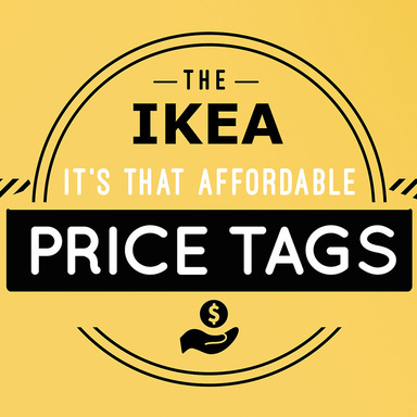 IKEA It's that affordable PRICE TAGs