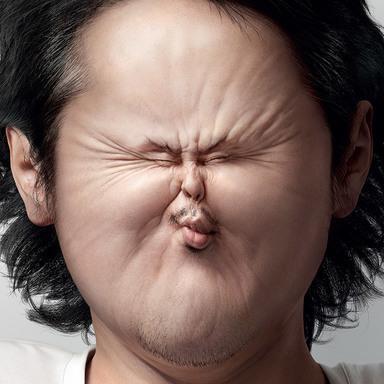 Sour-Faced Man