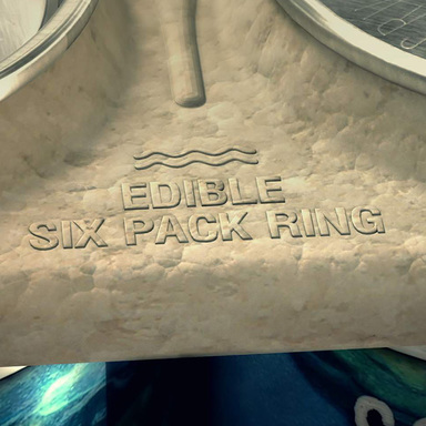 Edible Six Pack Rings