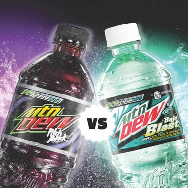 Mountain Dew Green Label MCN