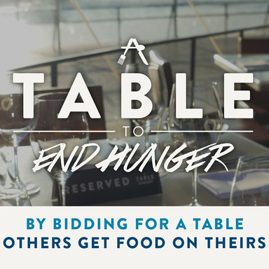 A Table to End Hunger