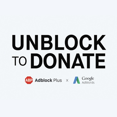 Unblock to Donate