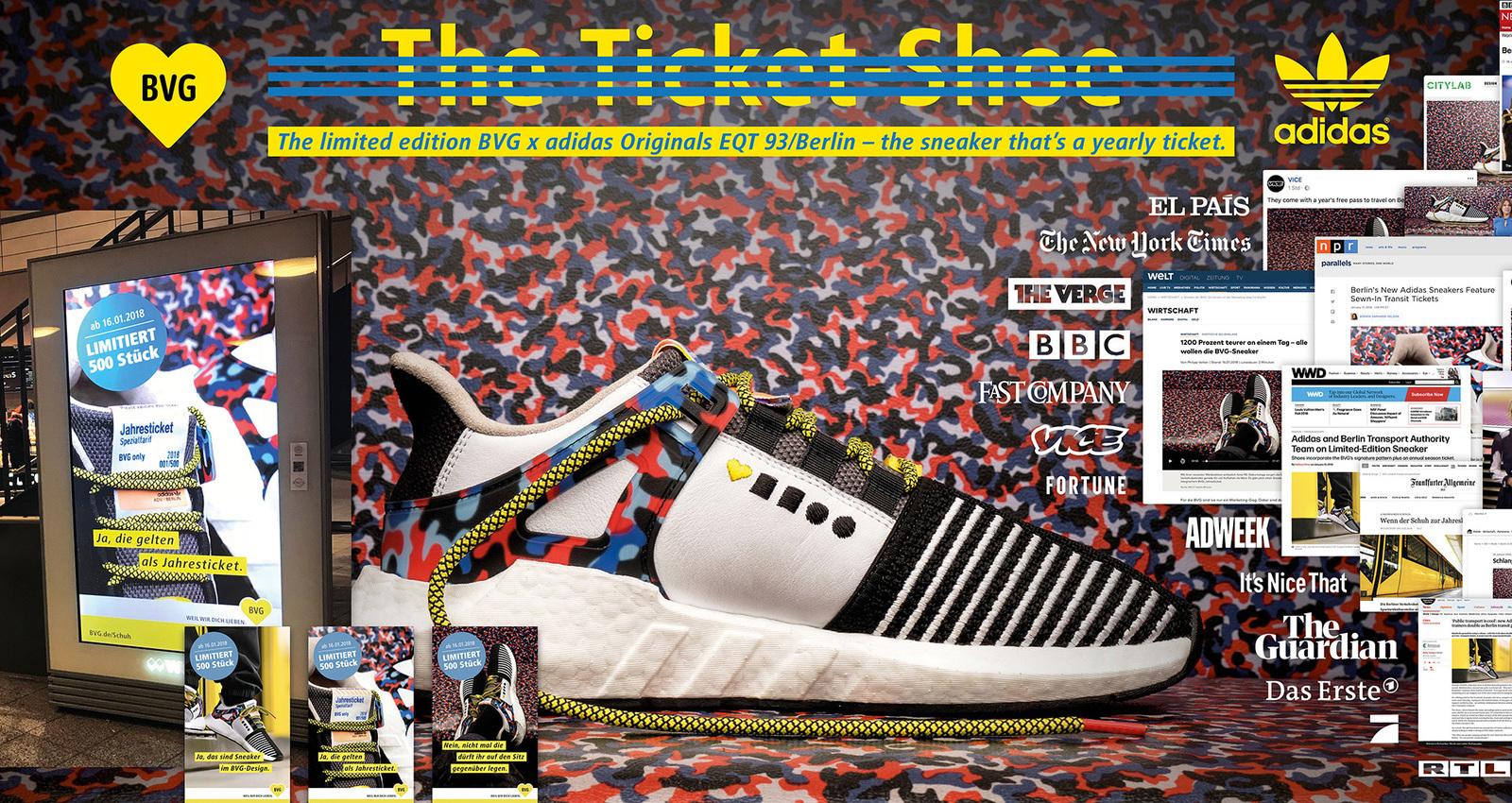 BVG x adidas – The Ticket-Shoe