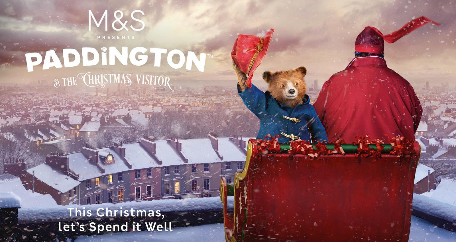 Paddington and the Christmas Visitor
