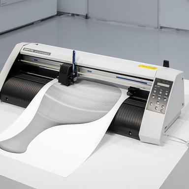 UNCONTROLLED TYPES by Plotter Drawing