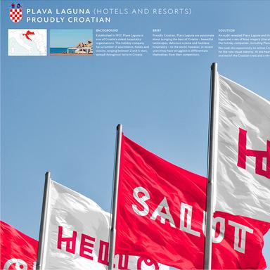 Plava Laguna; Proudly Croatian