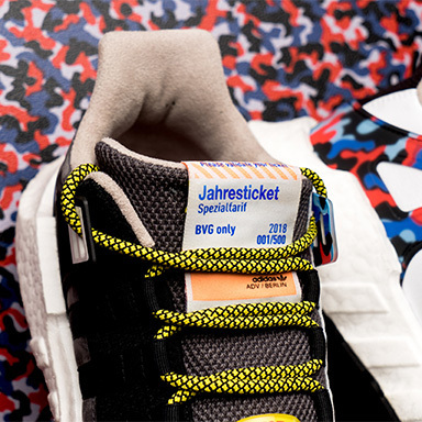 BVG x adidas – The Ticket-Shoe