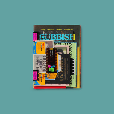 Rubbish Famzine No.7 Flash and Blood
