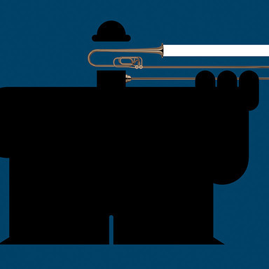 A Gentleman Plays The Trombone