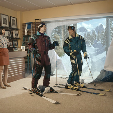 Interrupt-a-palooza: Smile and Say Skis
