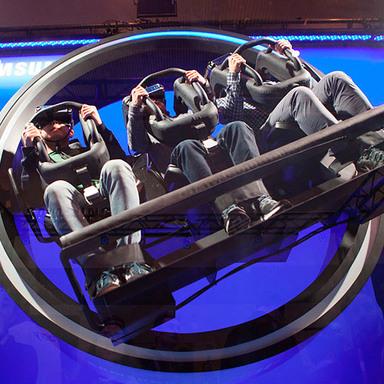 Samsung Gear VR Wonderland