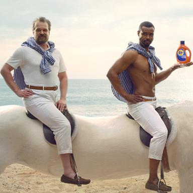 It's a Tide Ad Campaign