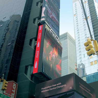 Coca-Cola Times Square Billboard
