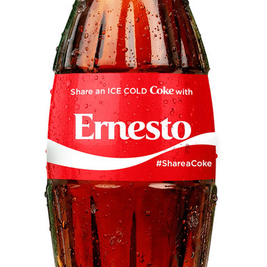 Share a Coke 1,000 Name Celebration