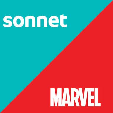Sonnet Superhero Damage Report