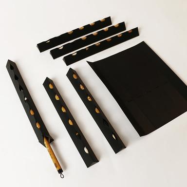 """""""Qianjin""""writing brush package design"""