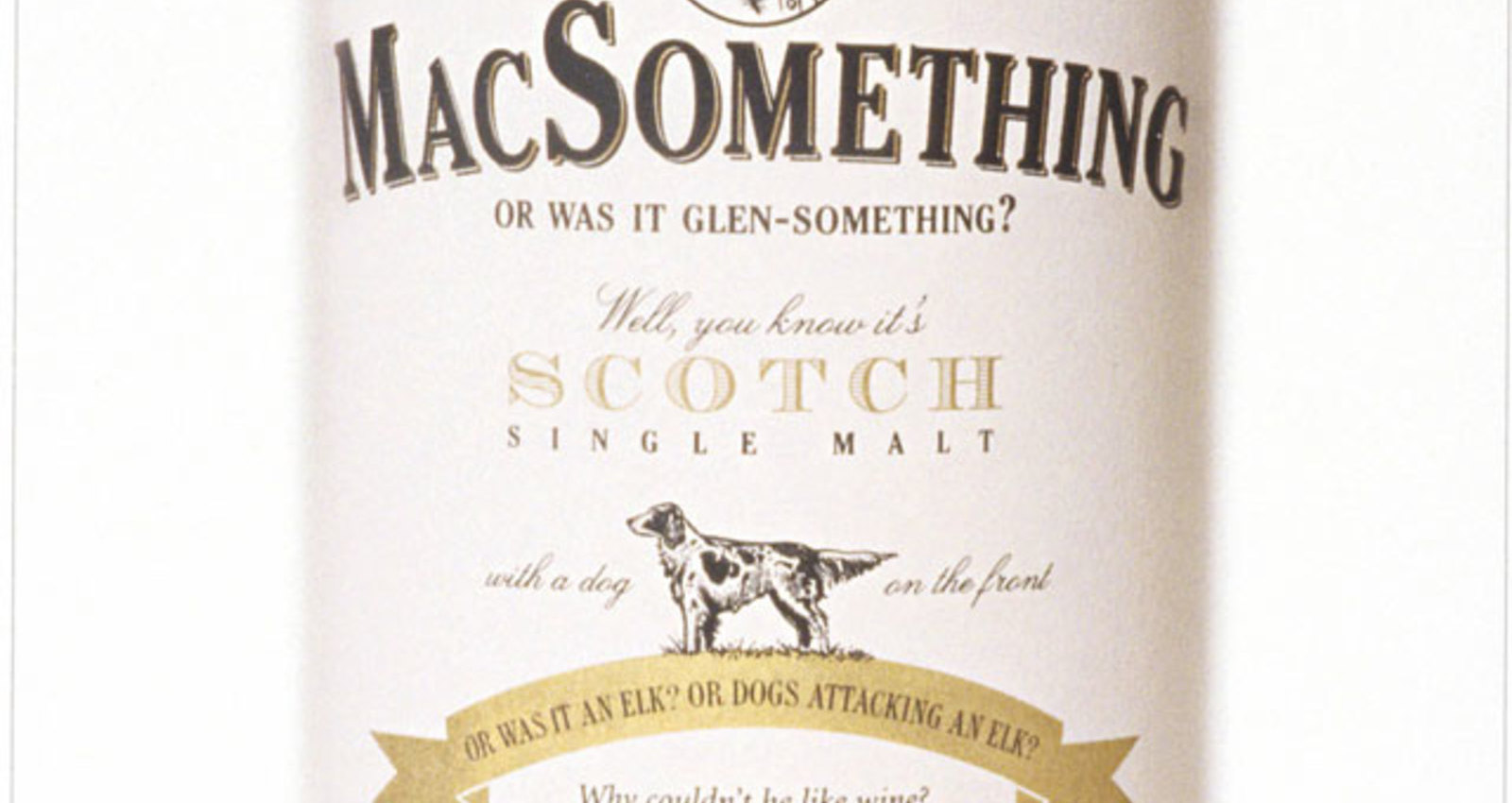 MacSomething, Obscure Pale Ale, Some French WIne