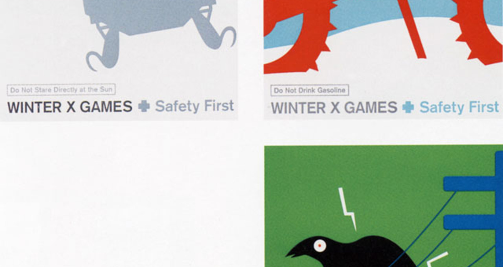 Safety First : Bear, Bunny, Squirrel, Bird