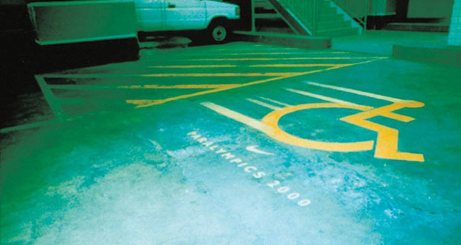 Nike Paralympics - Wheelchair Parking Bay