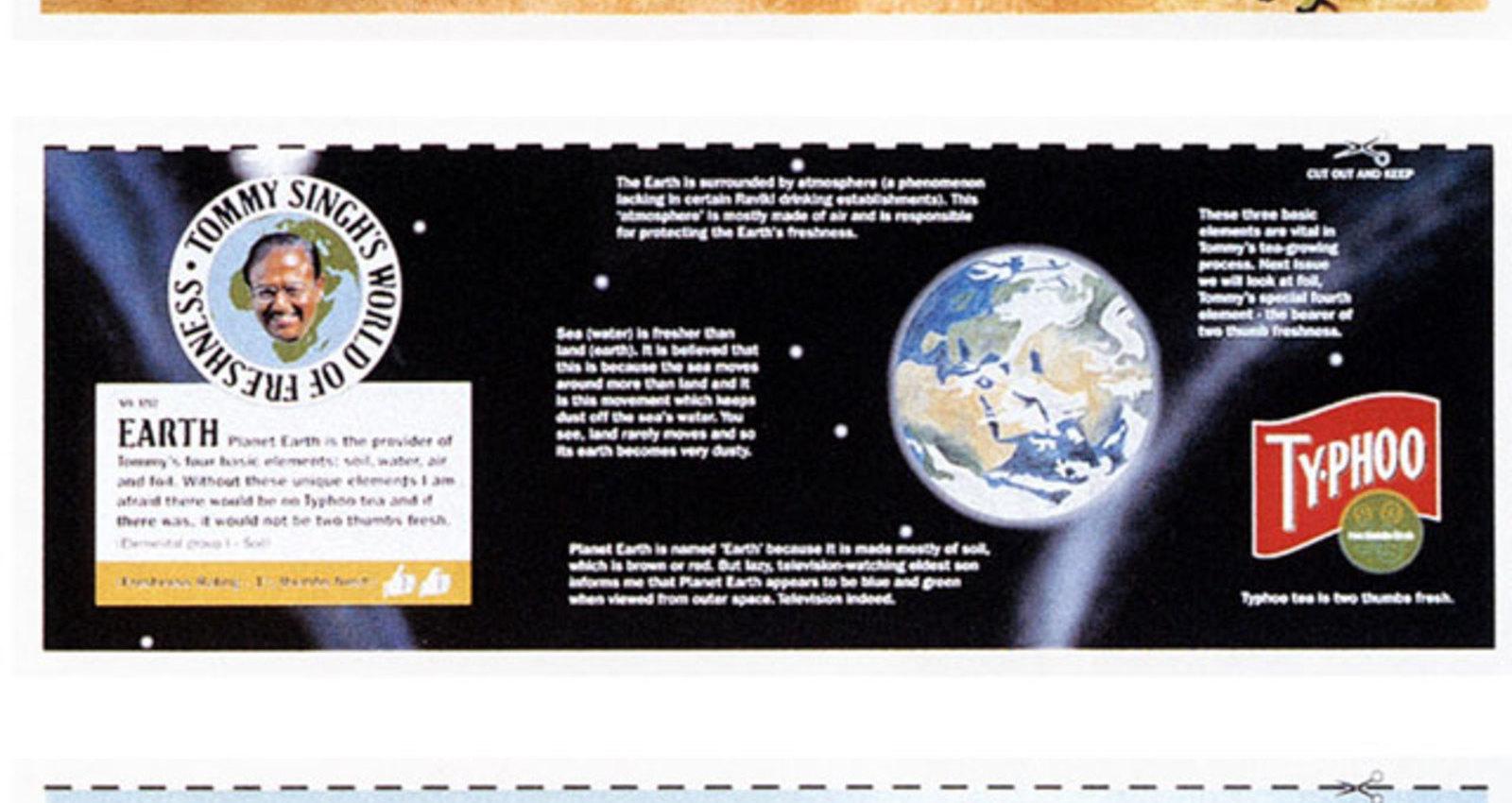 STIP ADS VARIOUS: EARTH, PYRAMID, ETC...
