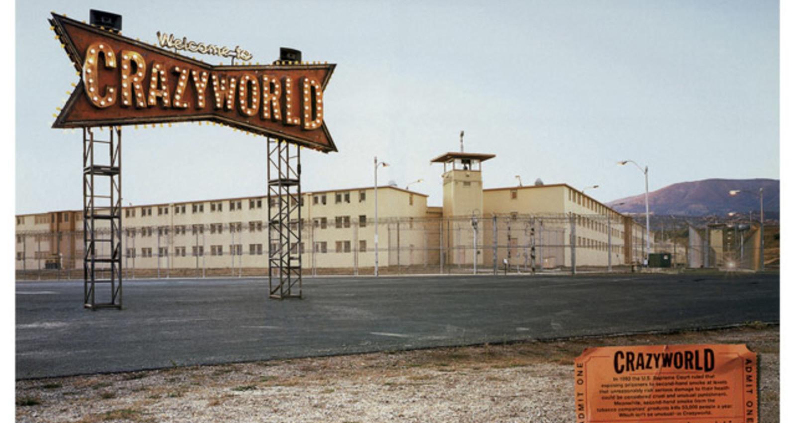 Supermarket, Grapes, Prison