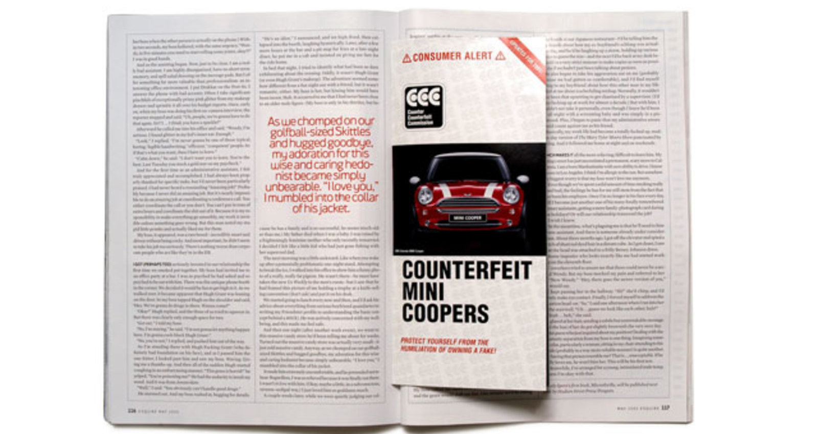 Counterfeit Brochure