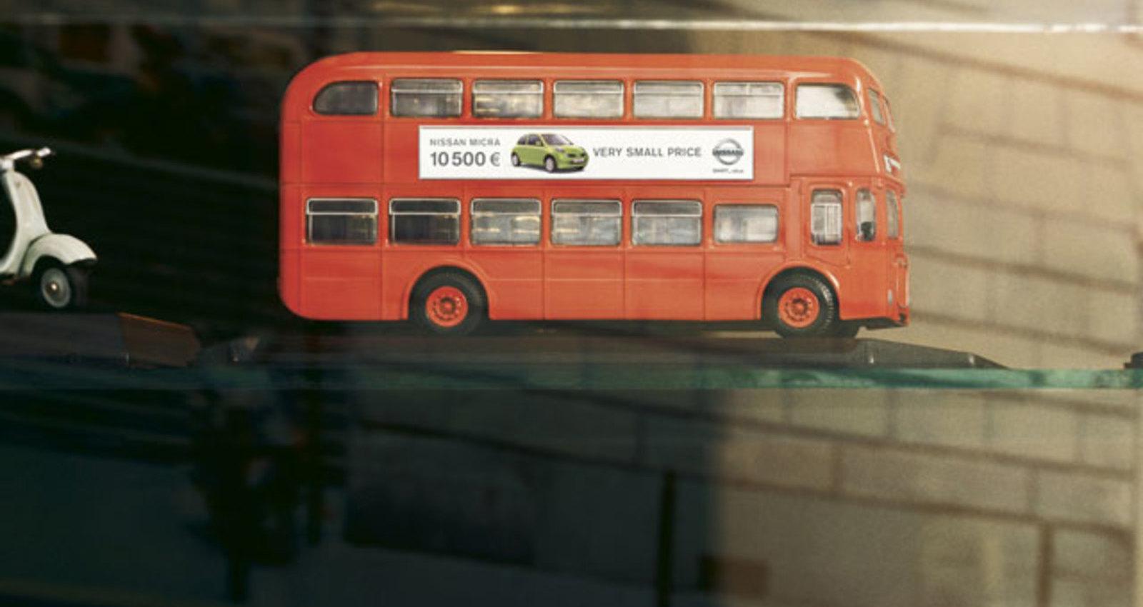 Micra Mini Prix Toy London Bus