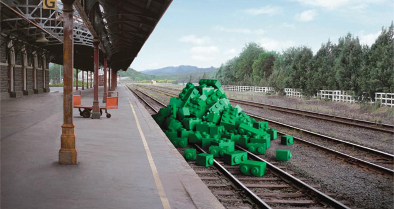 Lego - Train Station