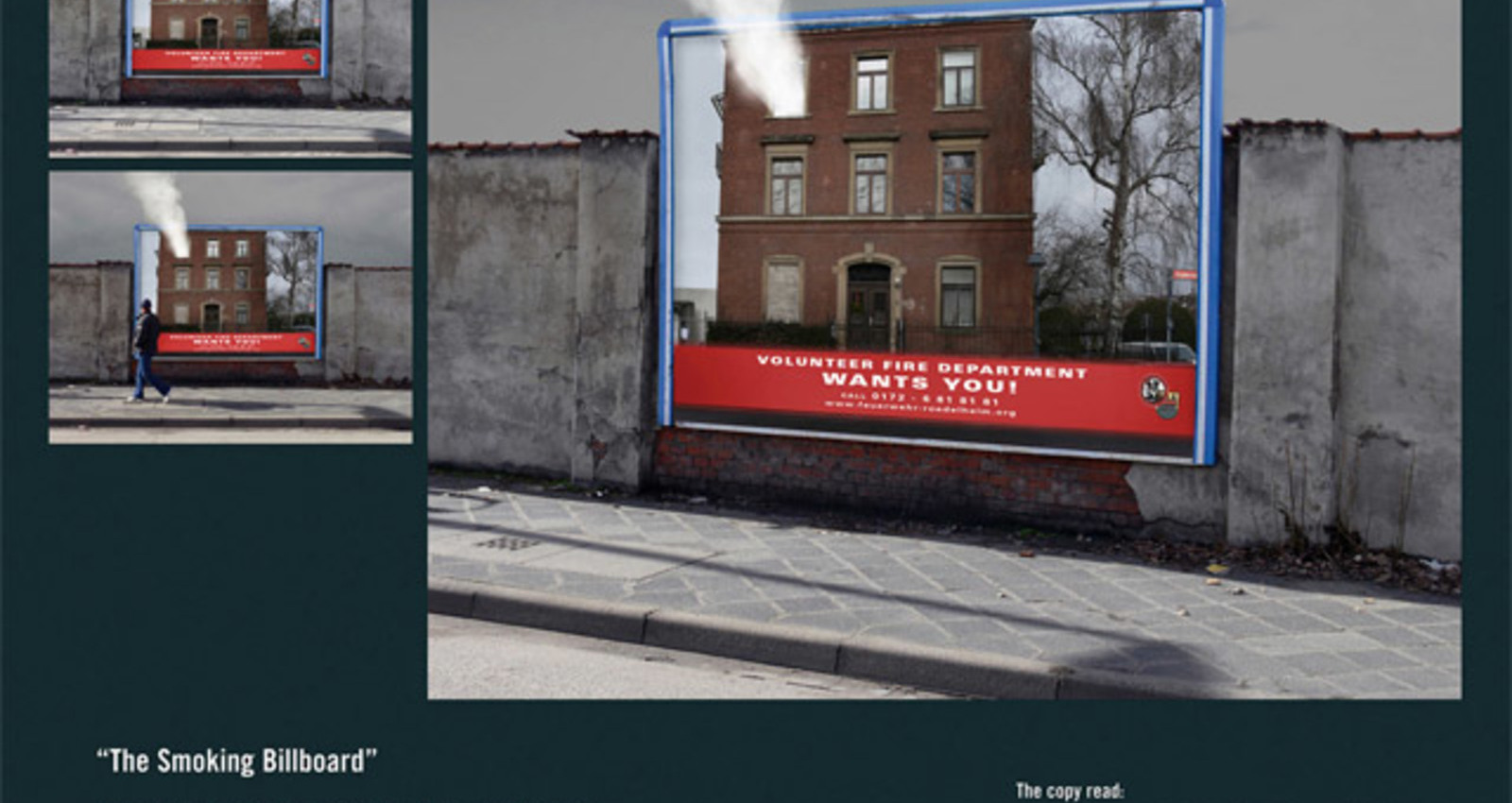 The Smoking Billboard