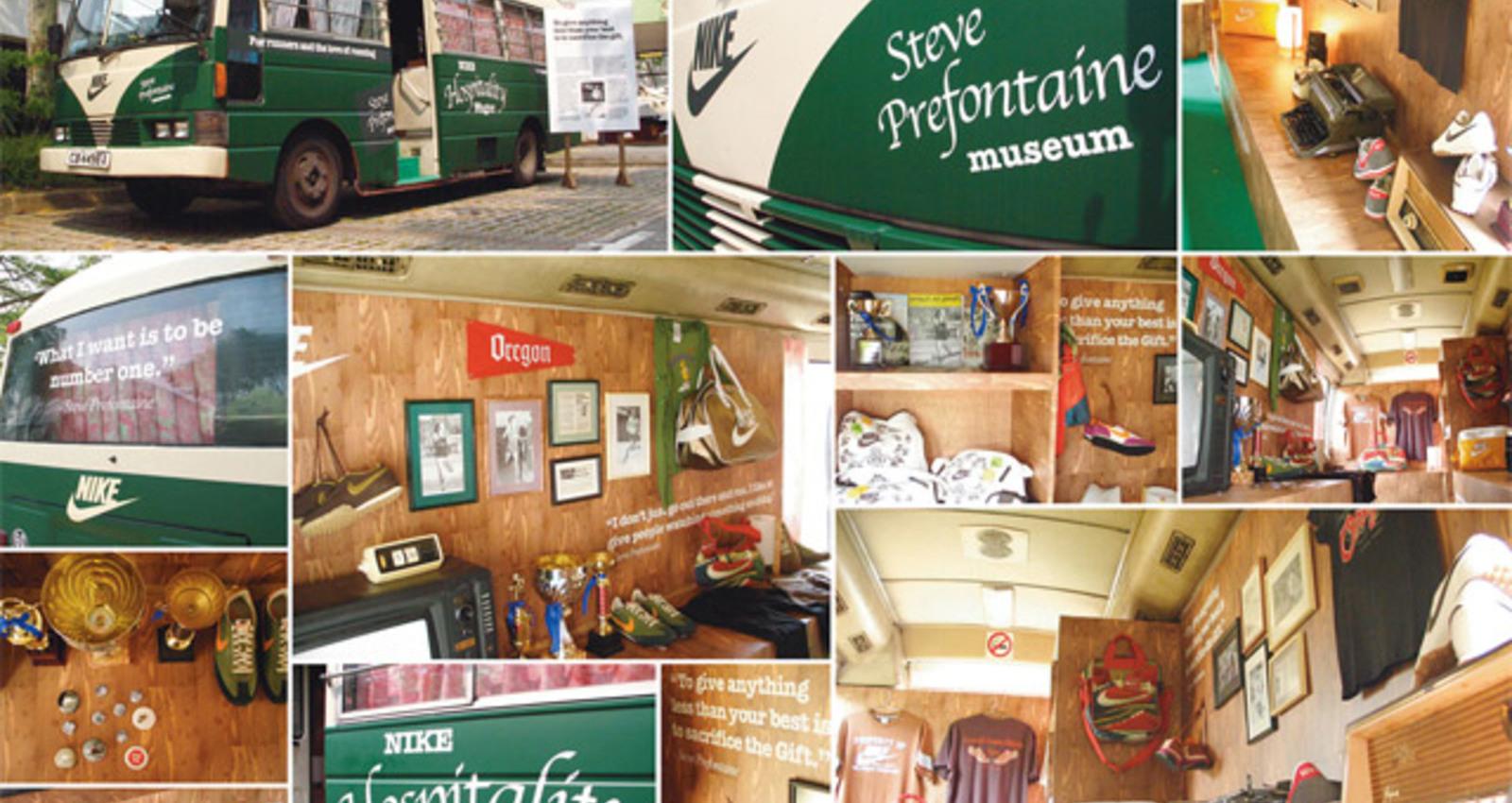 Prefontaine Museum Bus