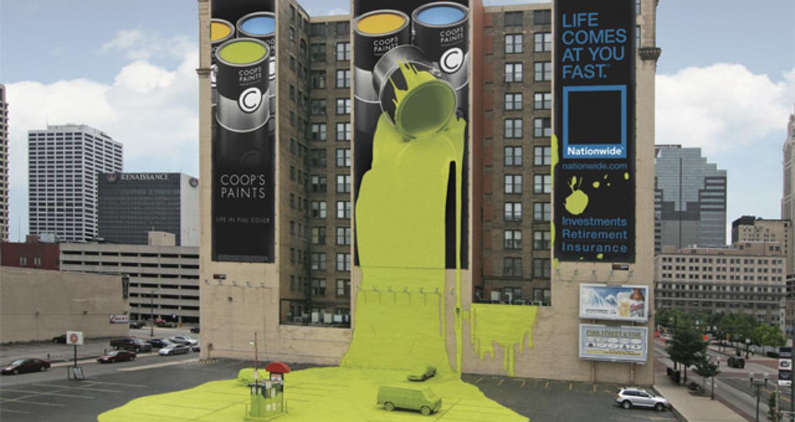 Coops Paint Wallscape