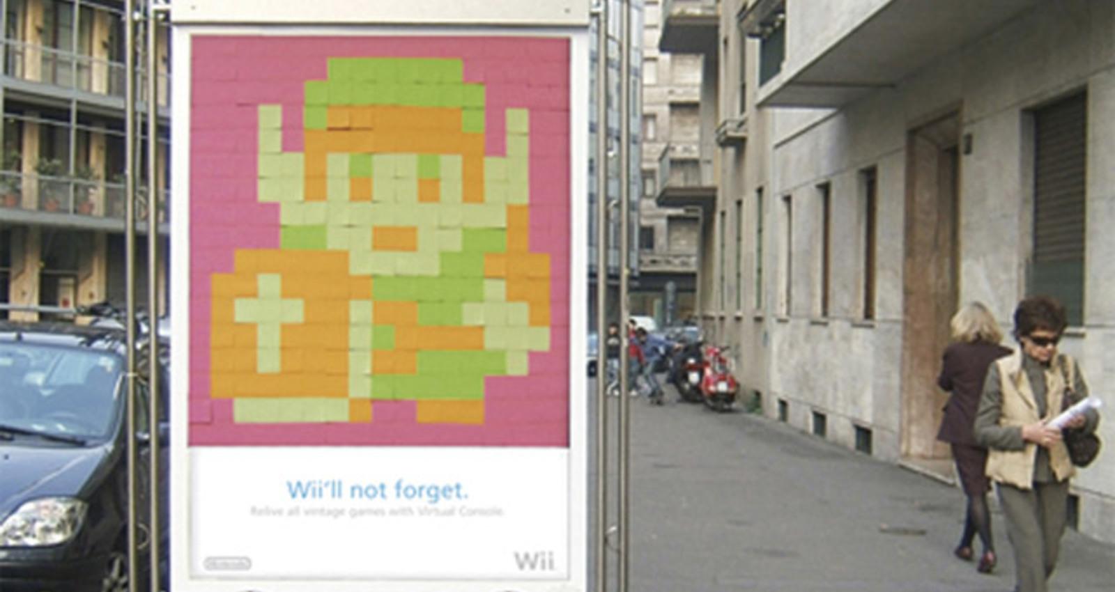 Nintendo Wii Post it