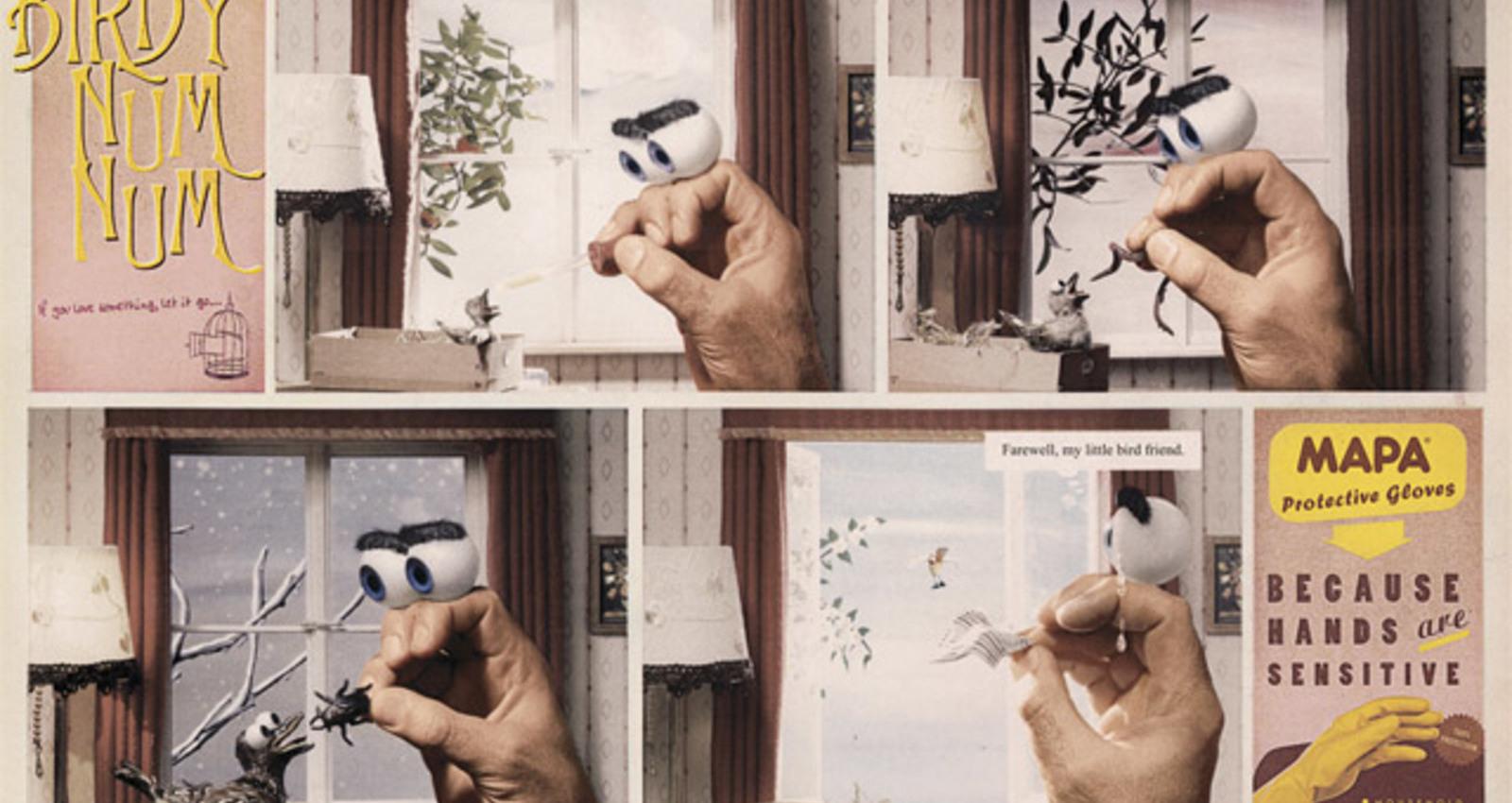 Sensitive hands campaign