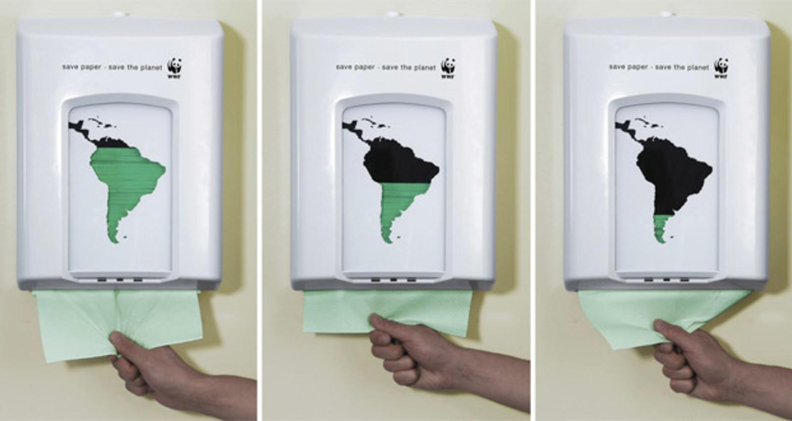 WWF Paper Dispenser