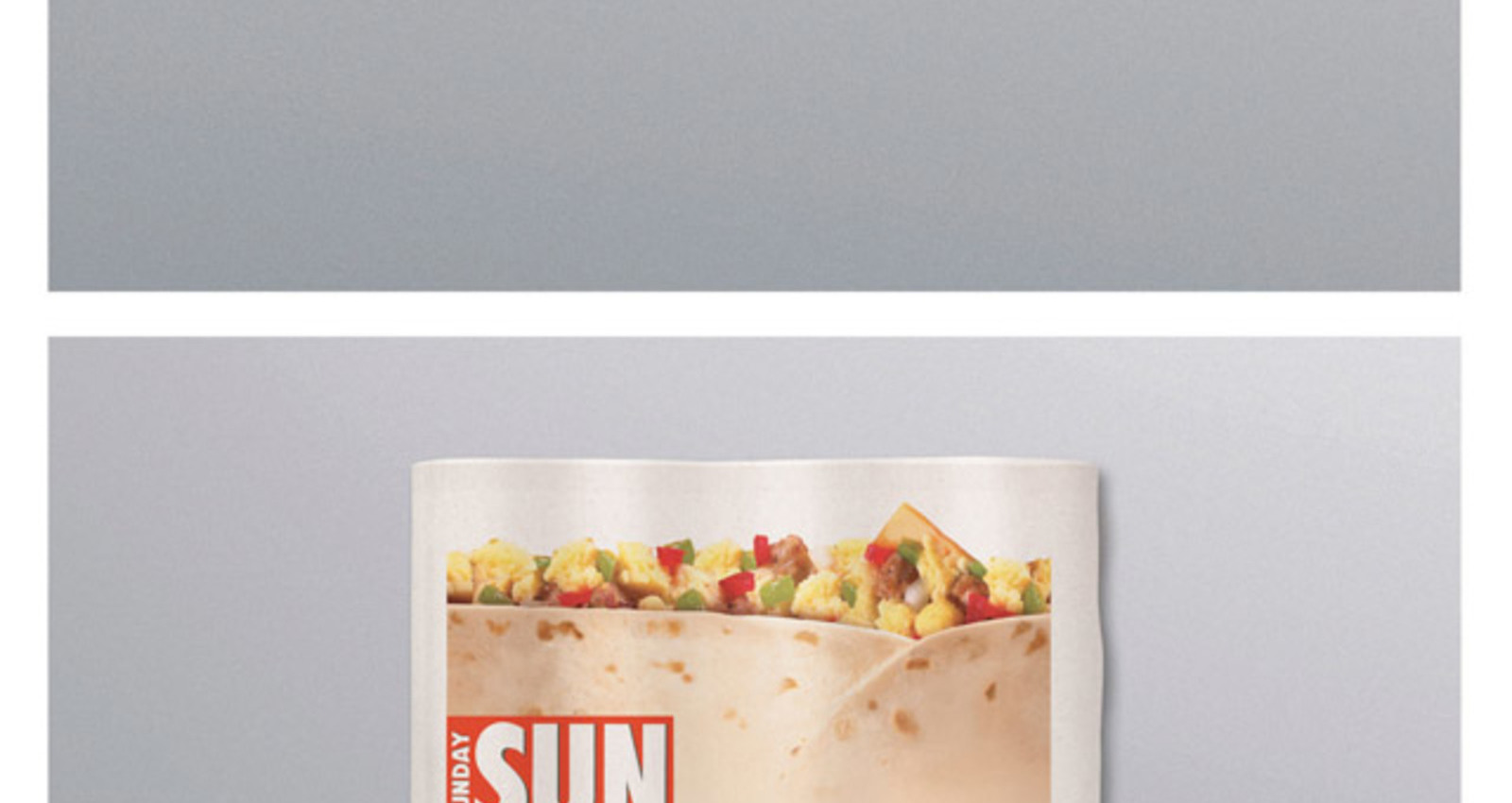 Newspaper Burrito