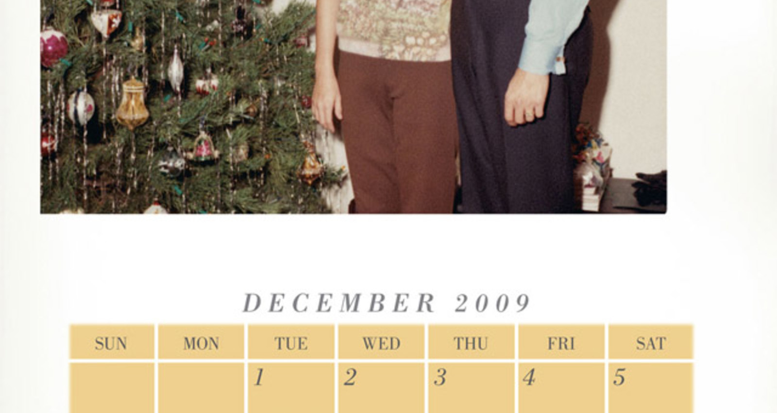 Canadian Club Calendar