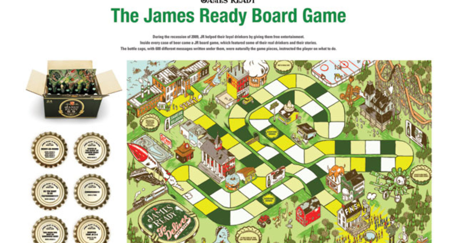 James Ready Board Game