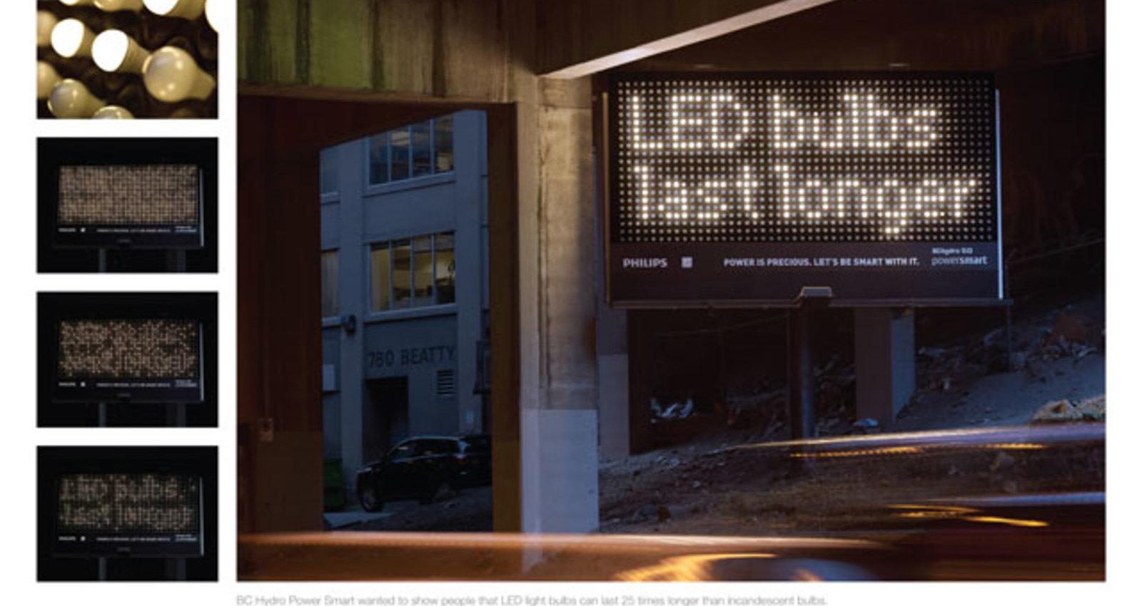 LED Bulb Billboard