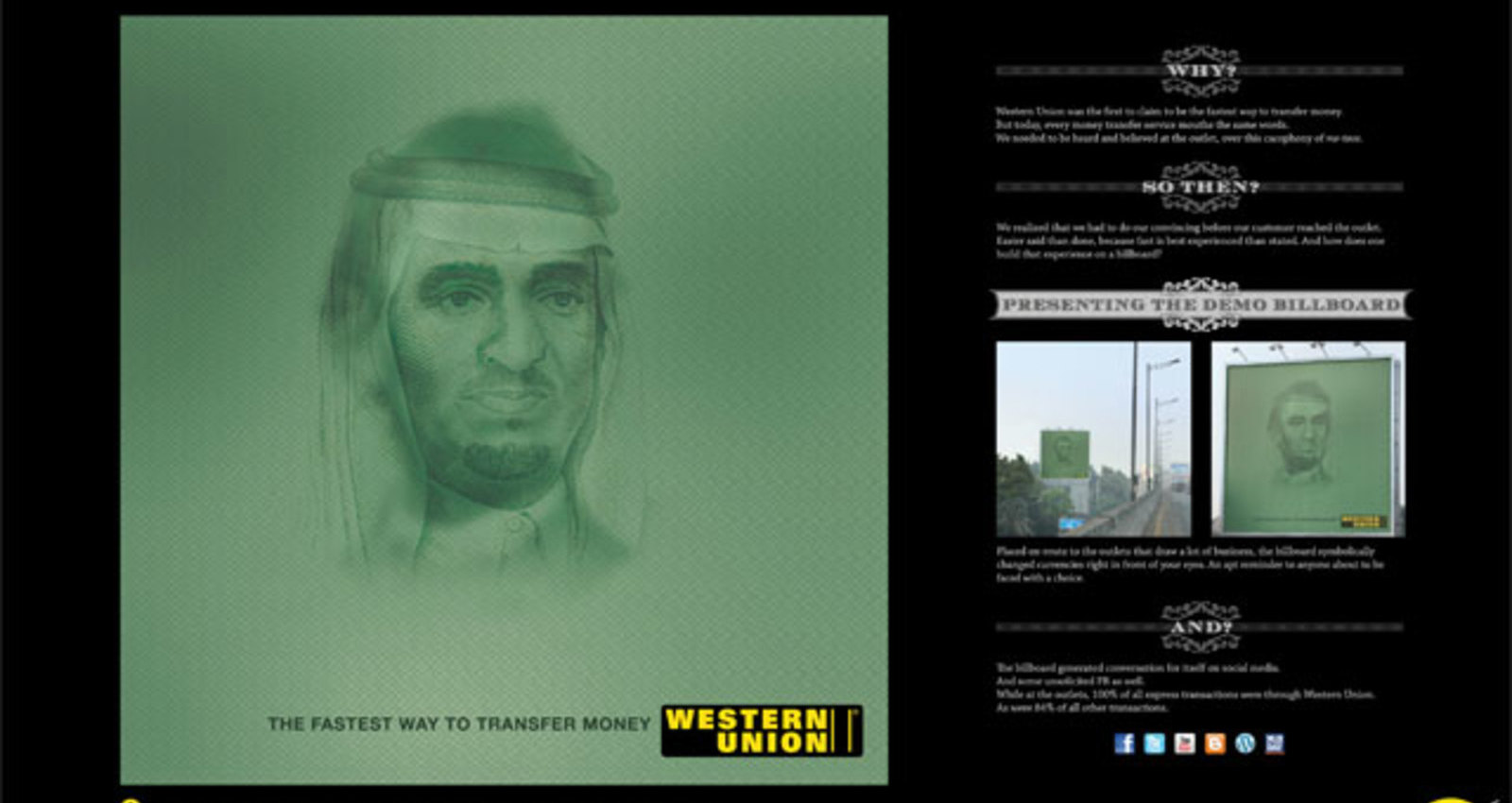 Western Union Demo Billboards
