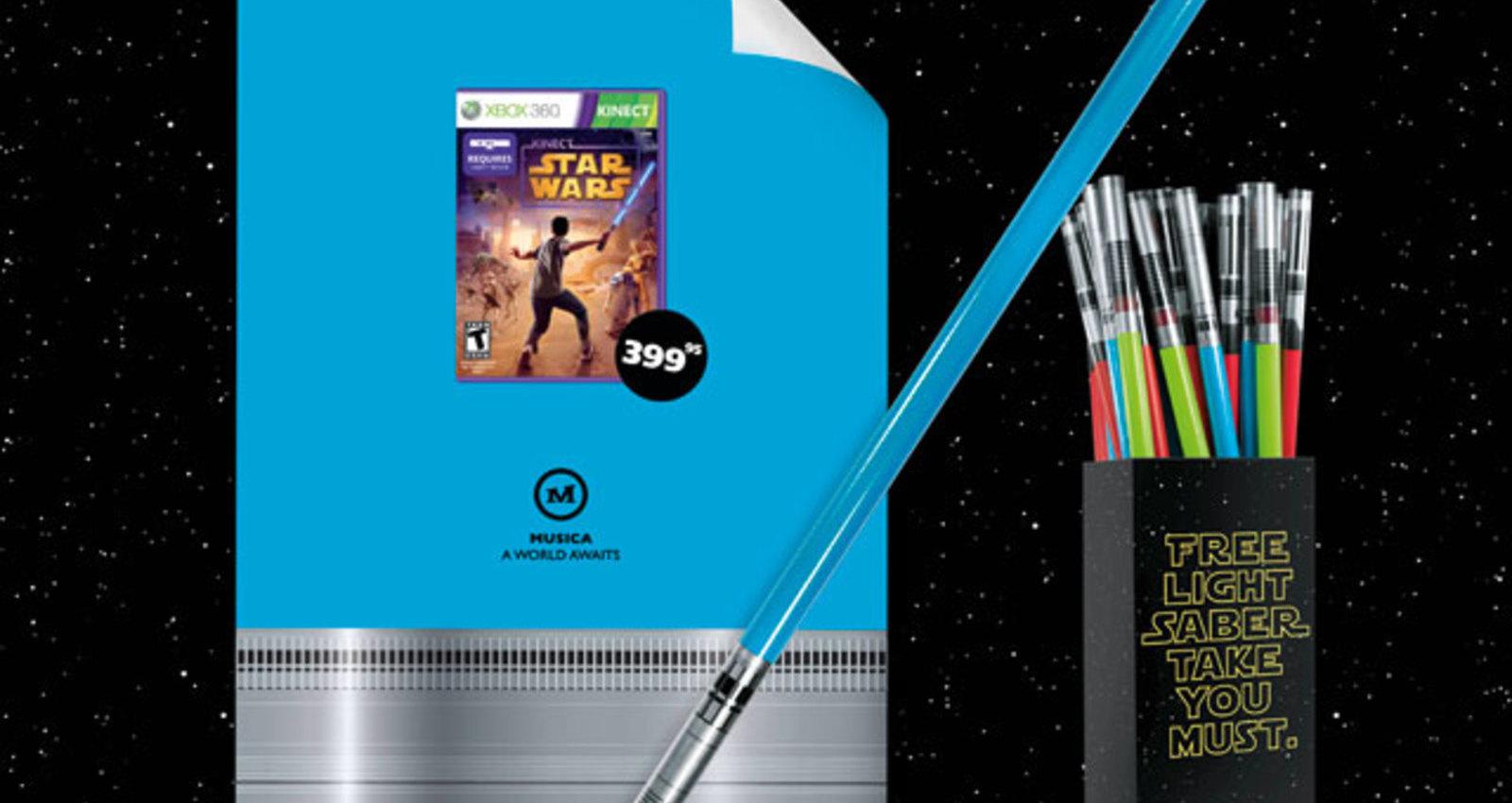 XBox Kinect Starwars