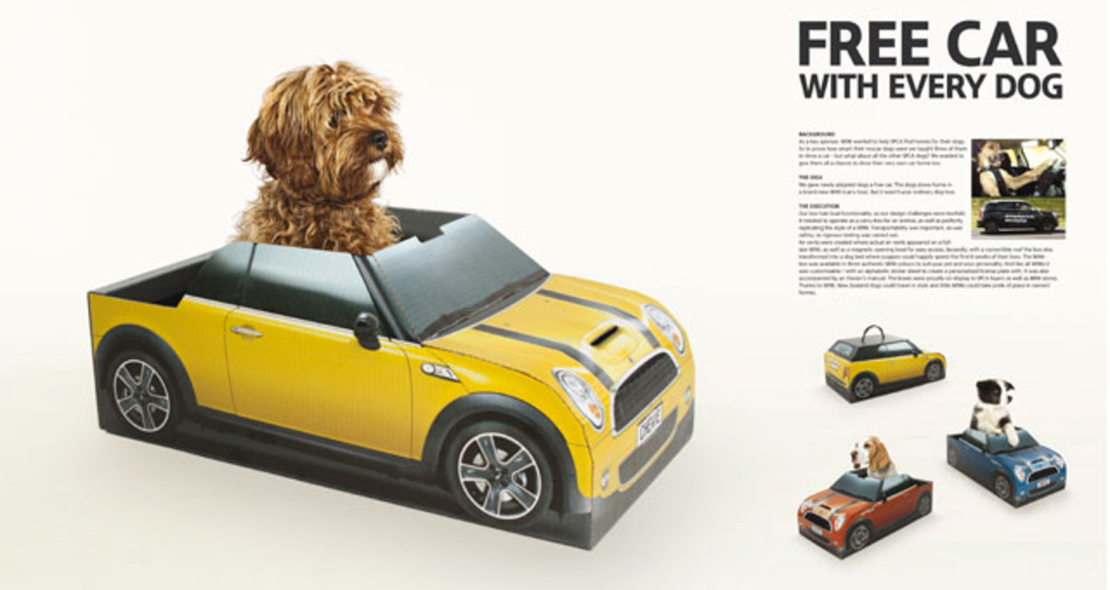 Free car with every dog.