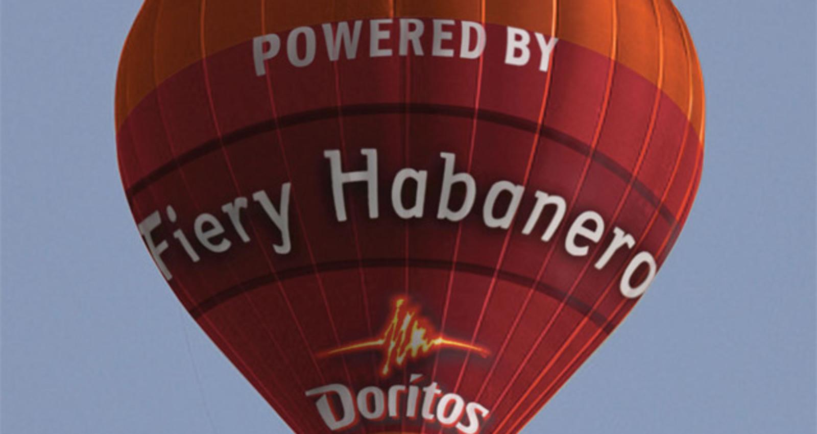 Doritos Balloon