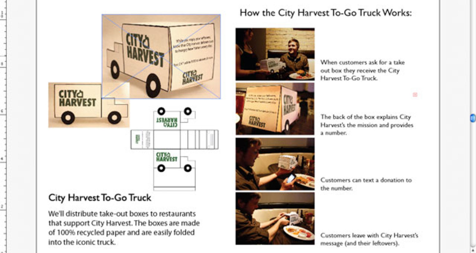 City Harvest To-Go Truck