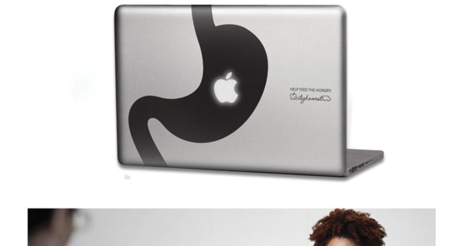 Apple Laptop Decal