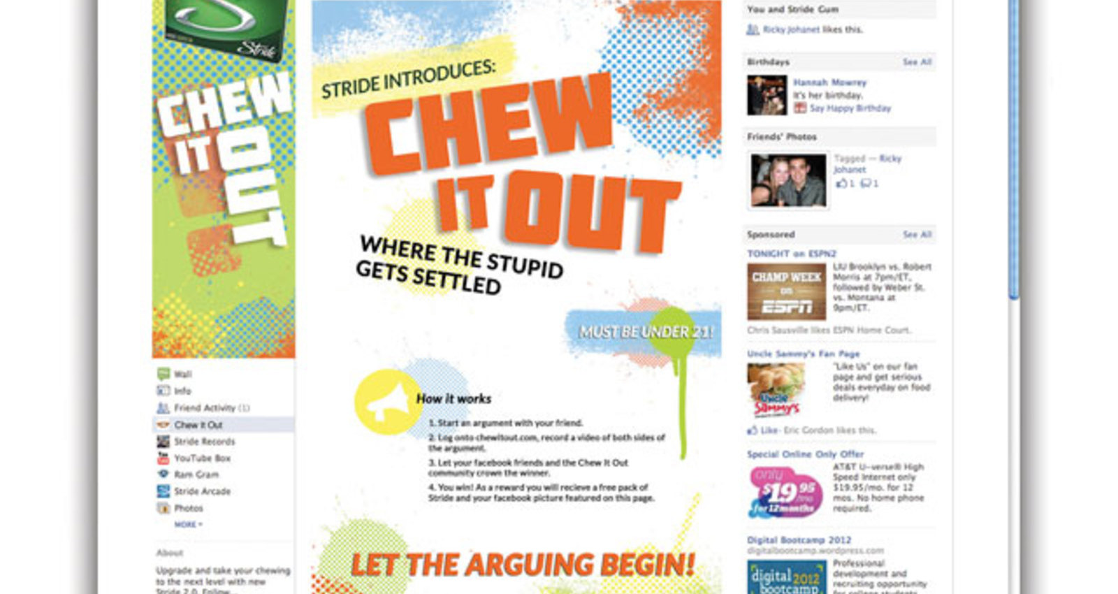 Chew It Out