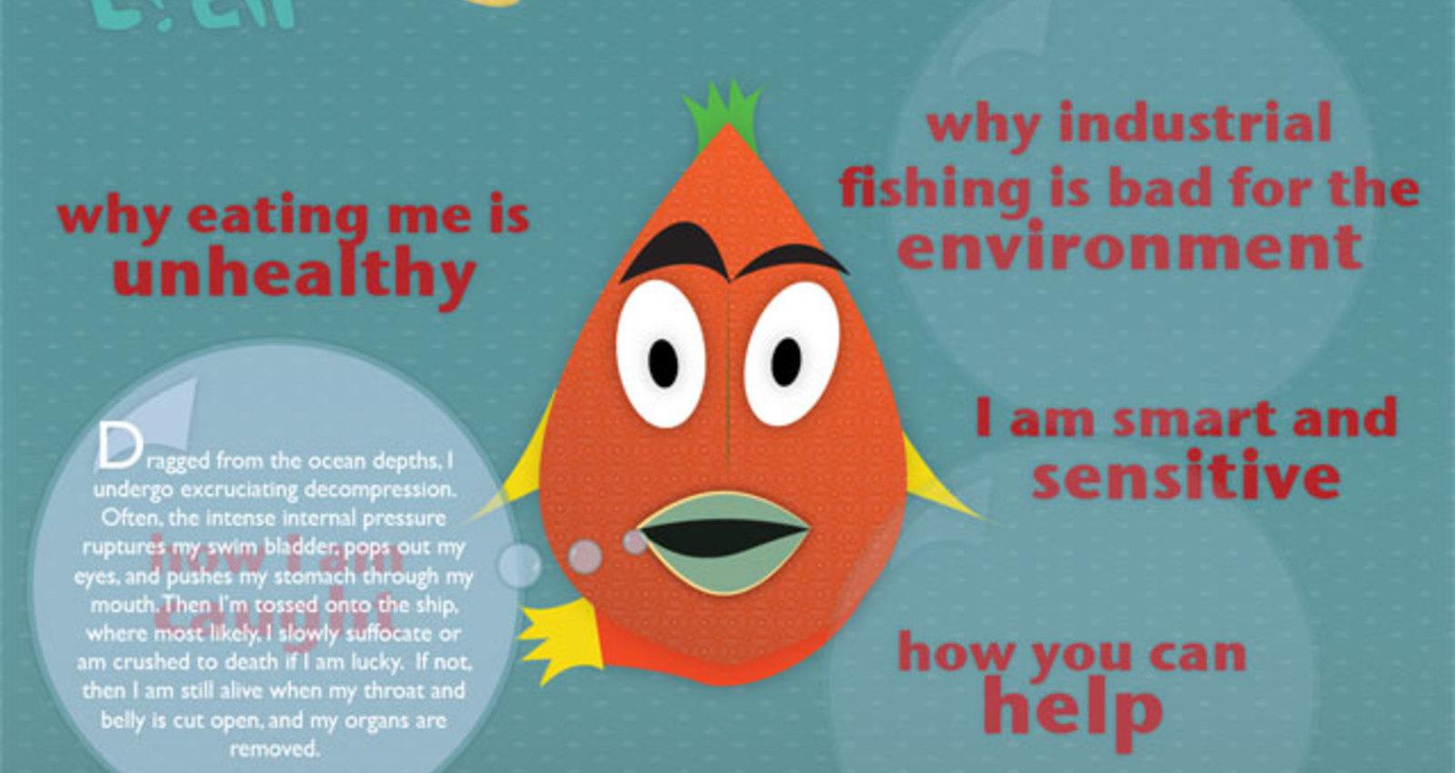 Peta Fish are human