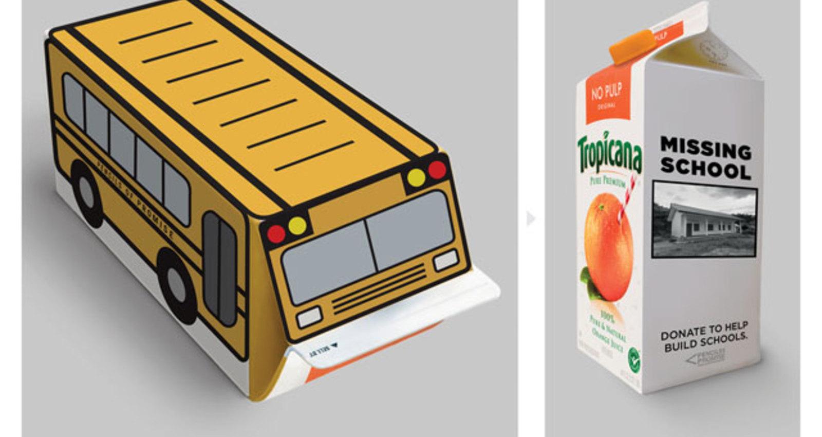 Missing School Cartons